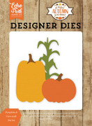 Pumpkins & Corn Stalk Die Set