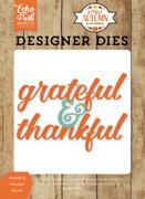 Grateful & Thankful Die Set
