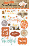 A Perfect Autumn Enamel Words & Phrases