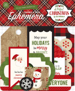 A Perfect Christmas Frames & Tags Ephemera