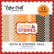 Dots & Stripes: Fall Paper Pack #2