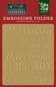 'Twas the Night Before Christmas Embossing Folder - Merry & Bright