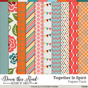 Together In Spirit Paper Pack