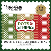 Dots & Stripes: Christmas Paper Pack #1