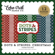 Dots & Stripes: Christmas Paper Pack #2