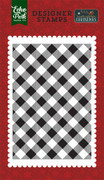 Holiday Buffalo Plaid A2 Background Stamp