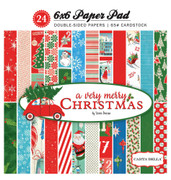 A Very Merry Christmas 6x6 Paper Pad