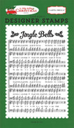 Jingle Bells A2 Background Stamp