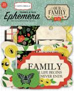 Our Family Frames & Tags Ephemera