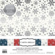 Winter Wonderland Silver Foil Collection Kit