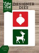 2x2 Layering Ornament-Deer Die Set