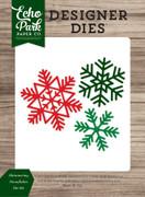 Shimmering Snowflakes Die Set
