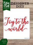 Joy to the World Word Die Set