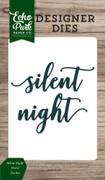 Silent Night Word Die Set