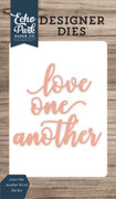 Love One Another Word Die Set