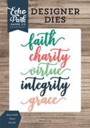 Have Faith Word Die Set