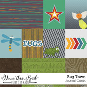Bug Town Journal Cards