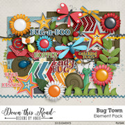 Bug Town Elements Pack