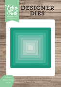 Rounded Square Nesting Die Set