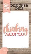 Thinking About You Word Die Set
