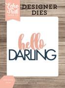 Hello Darling Word Die Set