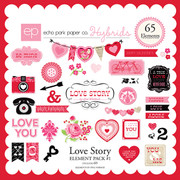 Love Story Element Pack #1