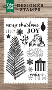 Merry Christmas 4x6 Stamp