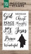 Glory to God 4x6 Stamp