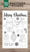 Christmas Day 4x6 Stamp