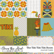 The Tiki Tiki Tiki Room Journal Cards