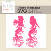 Fancy Mermaid Cut Files