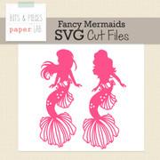 Fancy Mermaid Cut Files