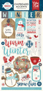 A Perfect Winter 6x13 Chipboard