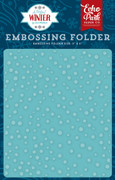 A Perfect Winter Embossing Folder - Snow Day
