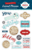 A Perfect Winter Enamel Words & Phrases