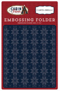 Cabin Fever Embossing Folder - Fair Isle