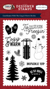 Cozy & Warm Stamp