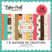I'd Rather Be Crafting Paper Pack #2