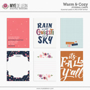 Warm & Cozy | Journal Cards