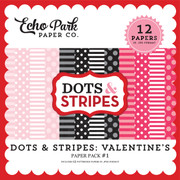 Dots & Stripes: Valentine's Paper Pack #1