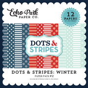 Dots & Stripes: Winter Paper Pack #2