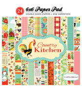 Country Kitchen 6x6 Paper Pad
