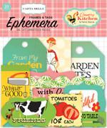 Country Kitchen Frames & Tags Ephemera