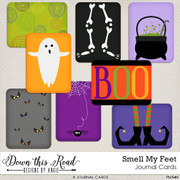 Smell My Feet Journal Cards