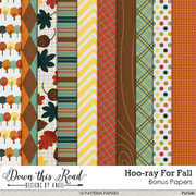 Hoo-ray For Fall Bonus Paper Pack