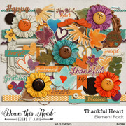 Thankful Heart Element Pack