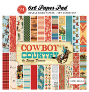Cowboy Country 6x6 Paper Pad