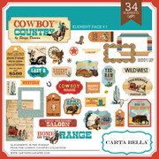 Cowboy Country Element Pack #1
