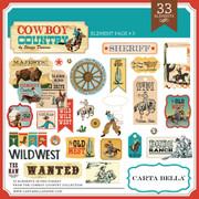 Cowboy Country Element Pack #3
