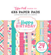 Happy Birthday Girl 6x6 Paper Pad